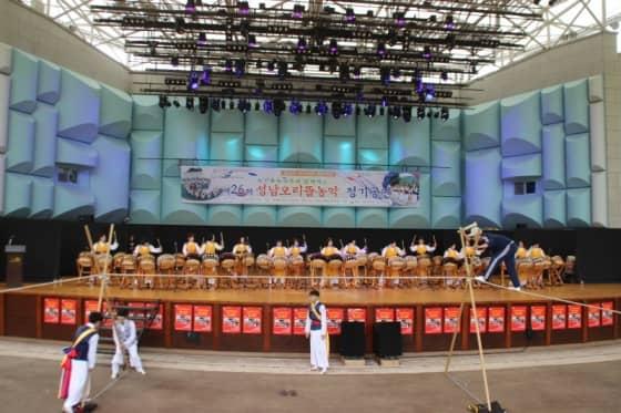 타악그룹 두드림 공연