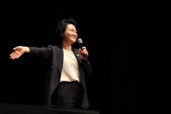 축사 자리에 오른 윤종필 국회의원