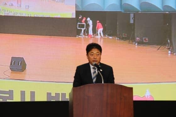 축사 중인 박문석 성남시의회 의장